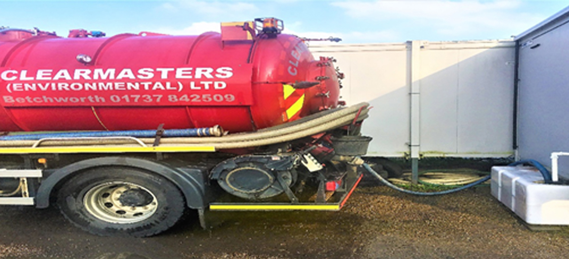 Commercial Liquid Waste Holding Tank Emptying